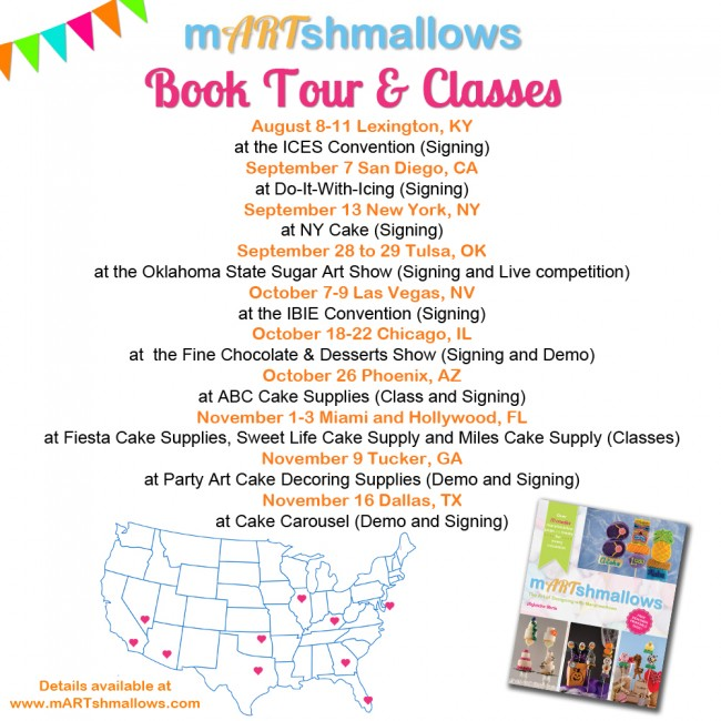 mARTshmallows Book tour