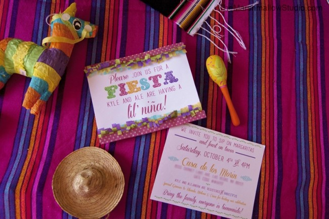 Invitation Fiesta TheMarshmallowStudio