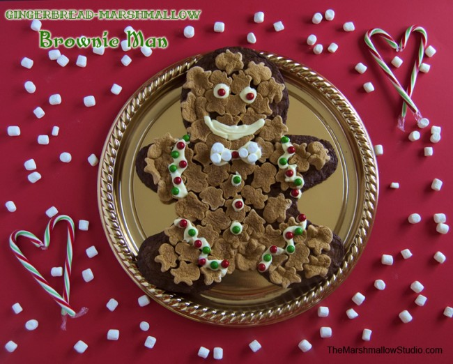 Gingerbread Marshmallow Brownie Man_TheMarshmallowStudio