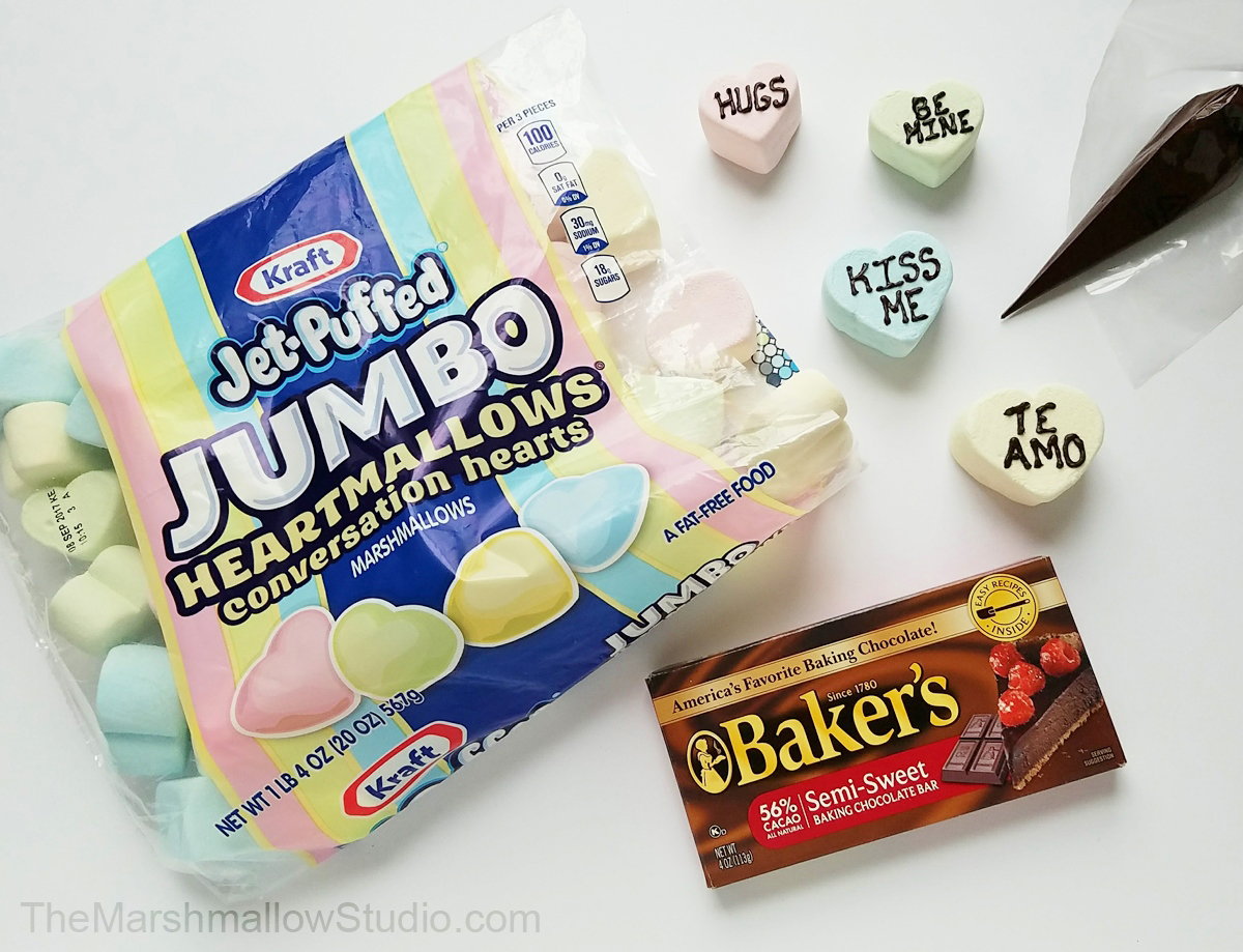 4 fun DIYs with Jumbo HeartMallows Conversation Hearts by The Marshmallow Studio8